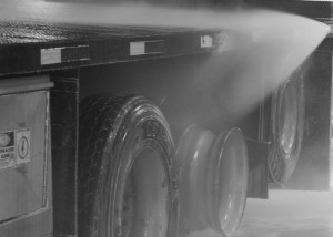 mobile truck washing with Ver-tech Labs chemicals