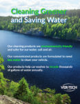 Cleaning Greener and Saving Water