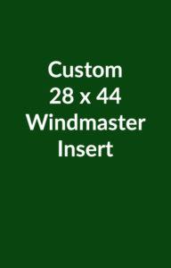 Custom Windmaster Insert