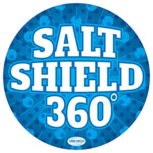 Salt Shield round sign version 1