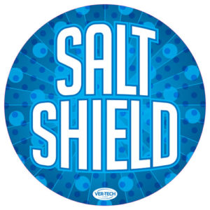 Salt Shield round sign version 2