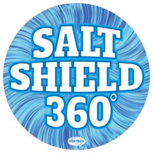 Salt Shield round sign version 3