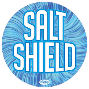 Salt Shield round sign version 4