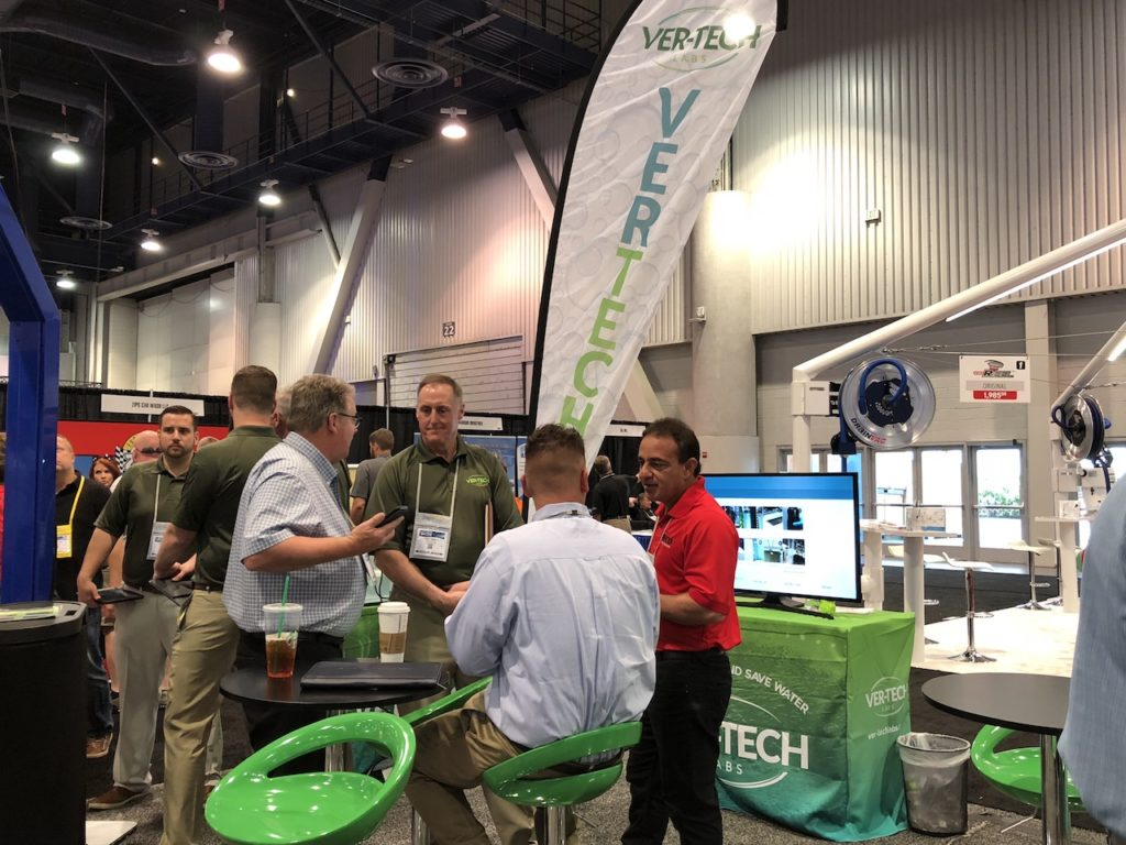 #gocarwashshow, car wash show, carwashing, Tony Vertin, Ver-tech Labs, carwash chemicals, professional carwashing, reclaim compatible