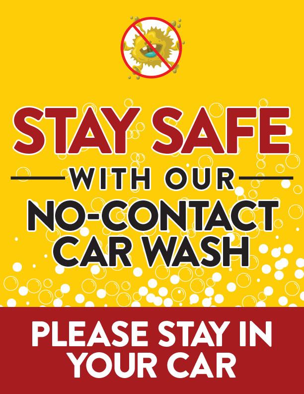 COVID19 Car Wash Poster